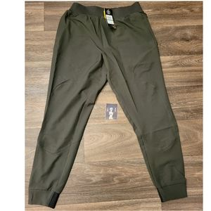 Under Armour Unstoppable Jogger Pants Olive Green Size Large
